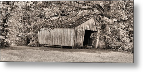 The Long Barn Metal Print by JC Findley