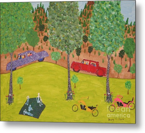 The Long Vacation Metal Print by Gregory Davis
