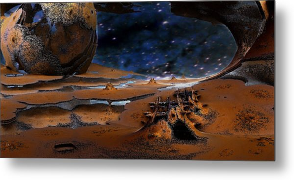 The Lost Probe Metal Print