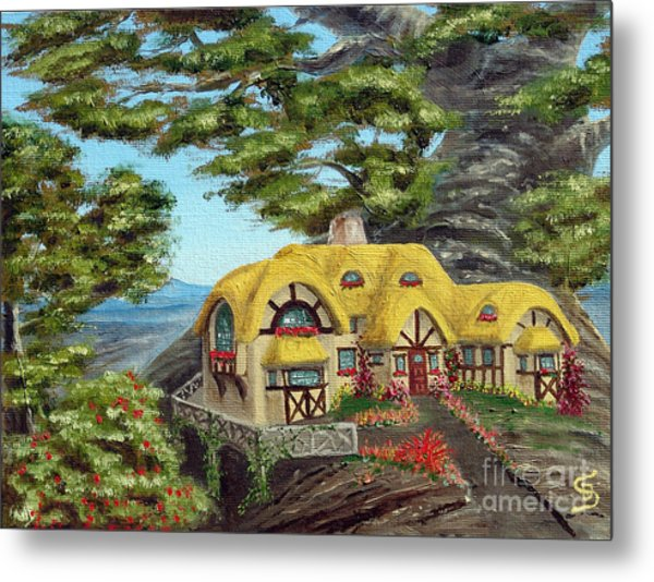 The Manor Cottage From Arboregal Metal Print by Dumitru Sandru