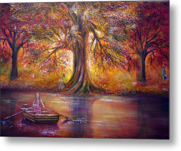 The Meeting Place Metal Print by Ann Marie Bone