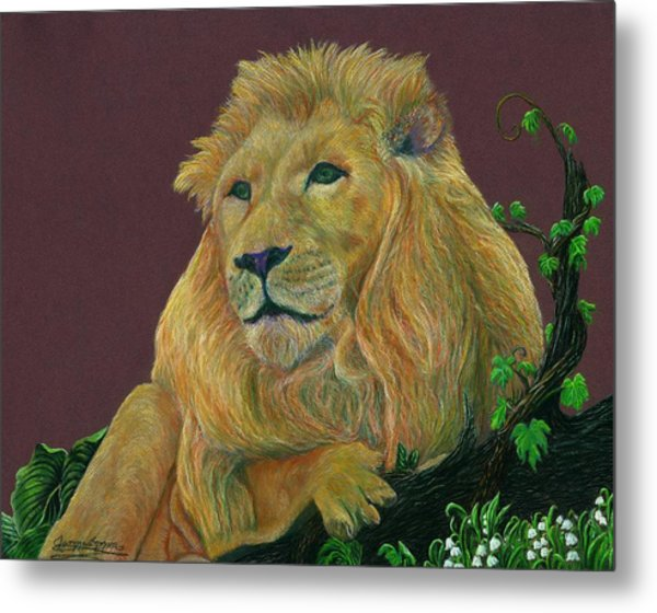 The Mighty King Metal Print