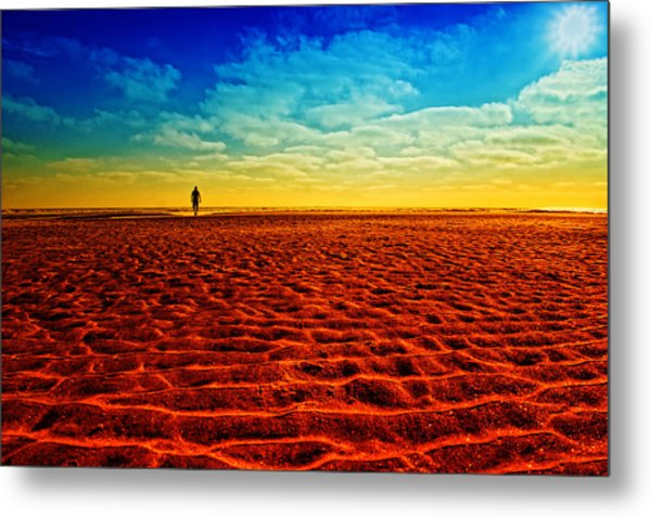The Mirage Metal Print by Donna Pagakis