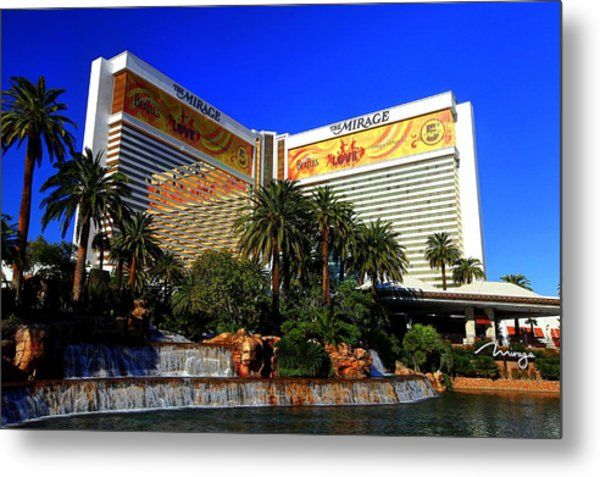 The Mirage Metal Print
