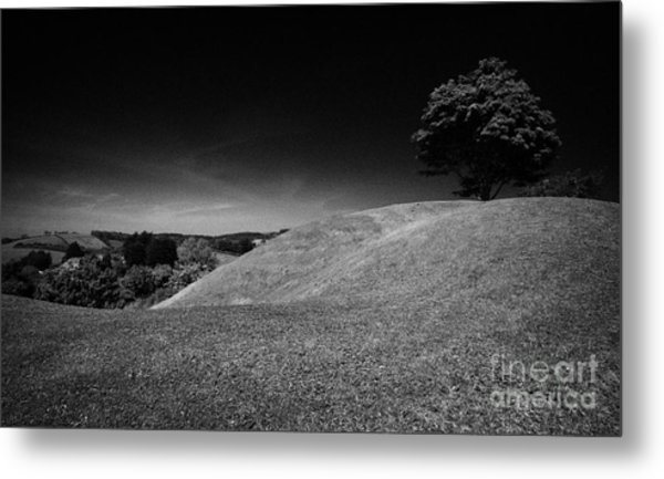 The Mound Of Down Downpatrick County Down Northern Ireland Metal Print by Joe Fox