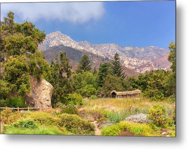The Mountains Above Metal Print by Ken Wolter