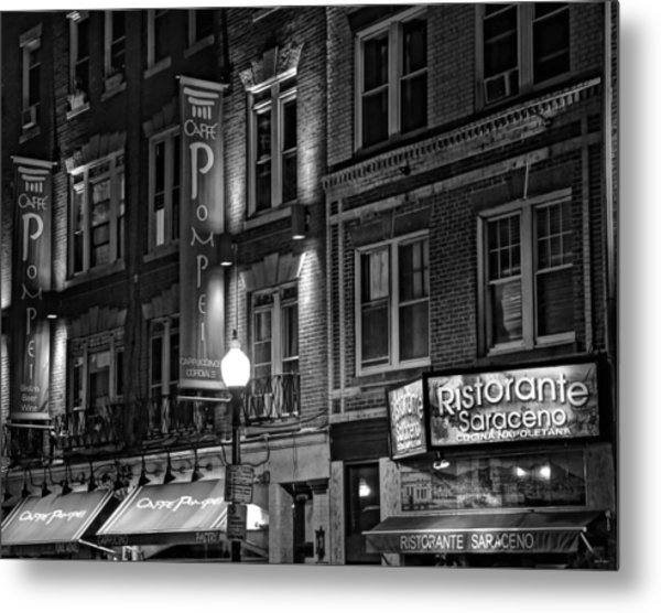 The North End 08 Metal Print