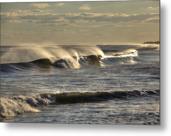 The Ocean Winds Metal Print