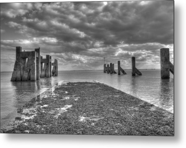 The Old Harbour Metal Print by Kevin Bates