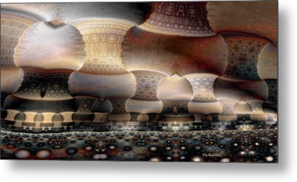 The Old World Metal Print