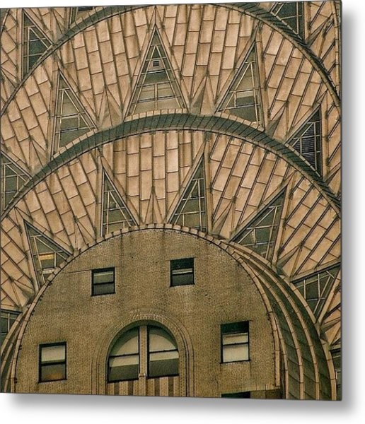 The One And Only Chrysler Bldg. - New Metal Print