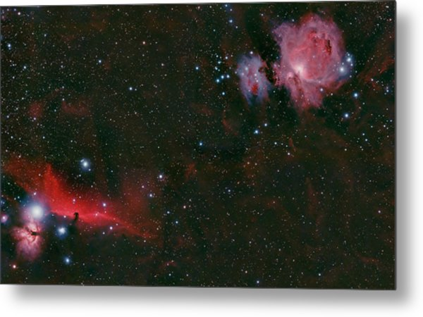 The Orion Complex Metal Print