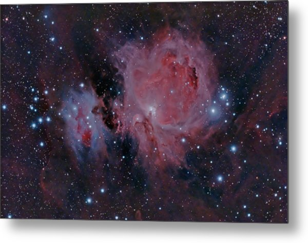 The Orion Nebula M42 Metal Print