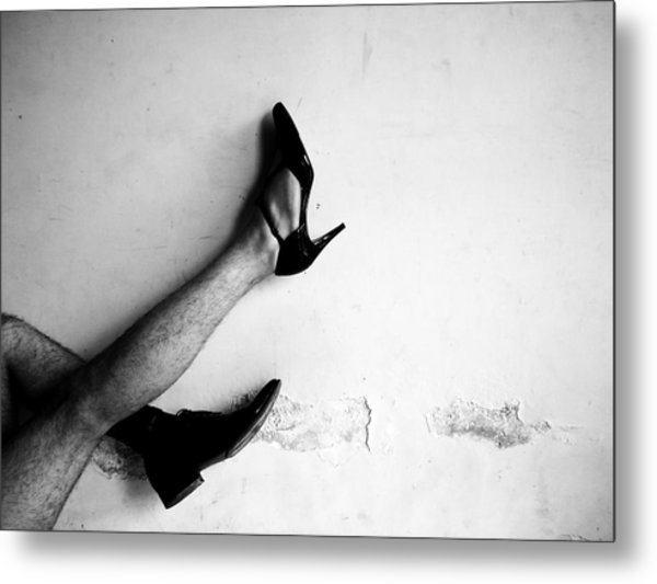 The Other Shoe 3 Metal Print