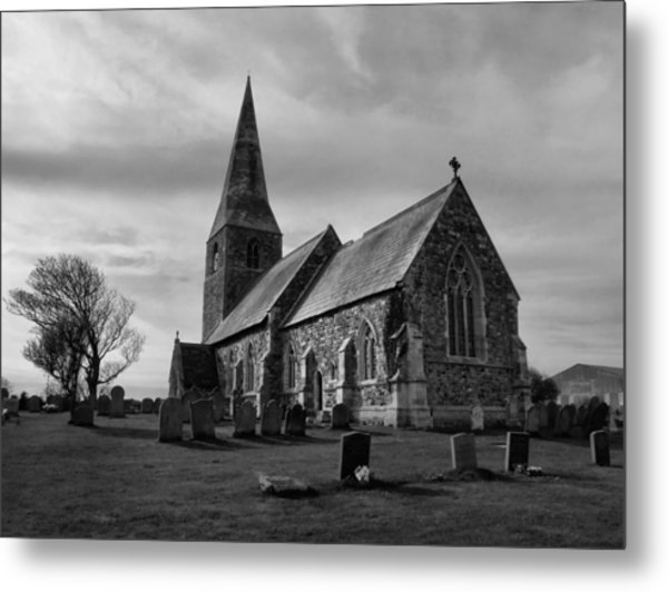 The Parish Church Of All Saints Metal Print
