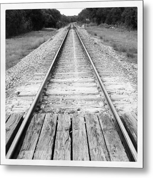 The Path Is Set Metal Print