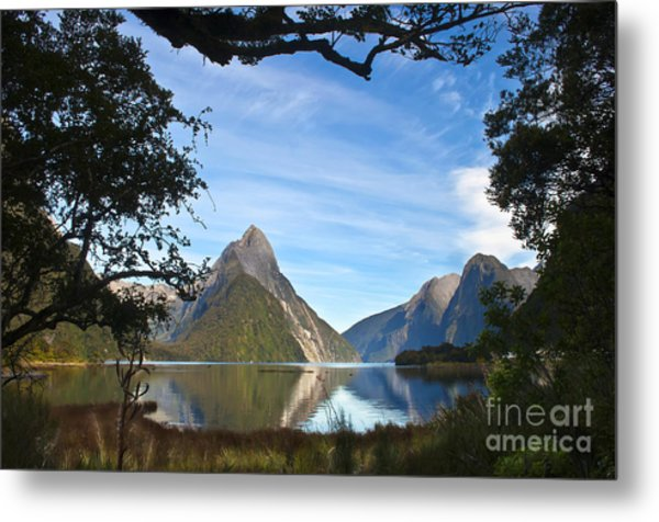 The Peak Metal Print by Roberto Bettacchi