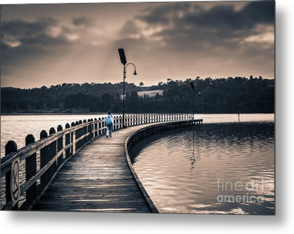 The Peir Metal Print