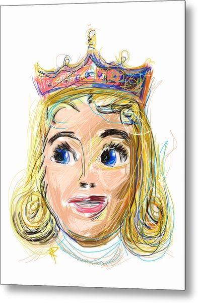 The Princess Metal Print by Russell Pierce