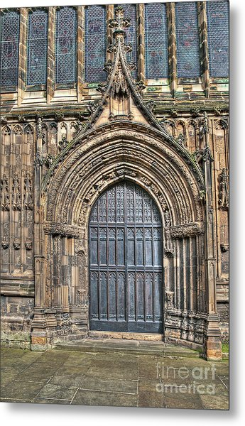 The Priory Church Of St Mary's Bridlington Metal Print