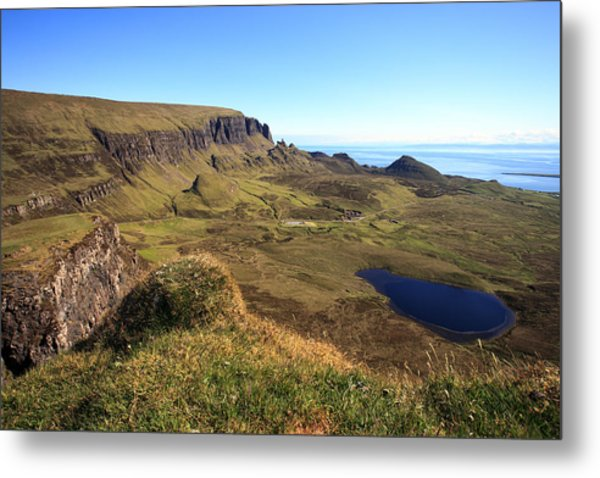 The Quiraing Isle Of Skye Metal Print