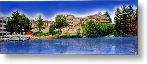 The Resort Metal Print