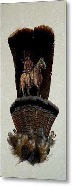 The Scout Metal Print by Theresa Jefferson