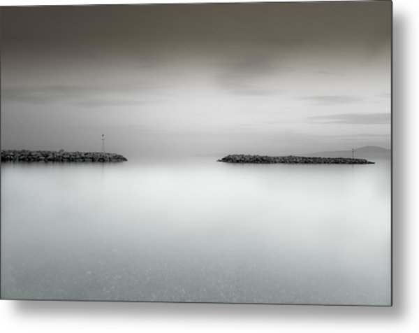 The Sea Between Us Metal Print