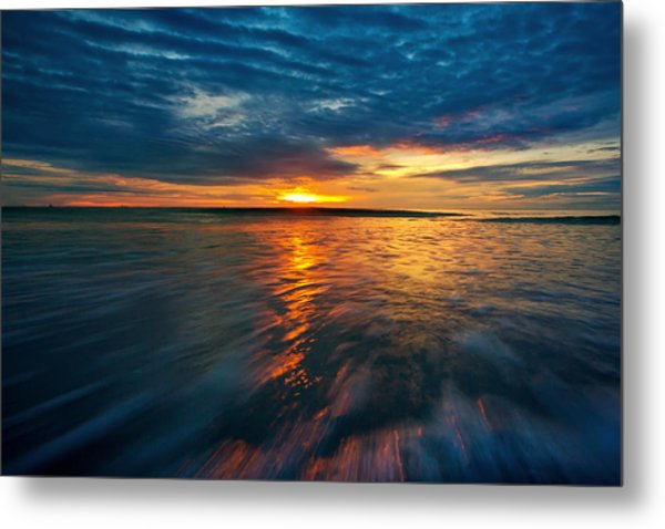 The Seascape Huahin Thailand Metal Print by Arthit Somsakul