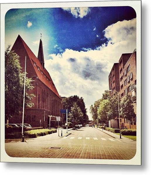 The Second #church In Venray Metal Print