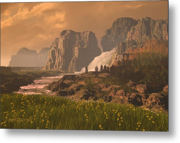The Seventh Day Metal Print