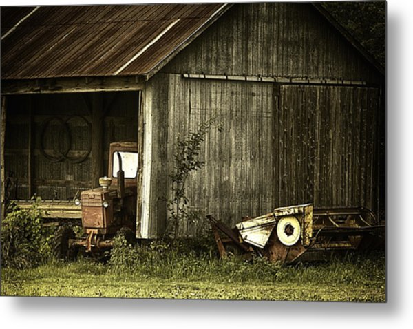 The Shed Metal Print