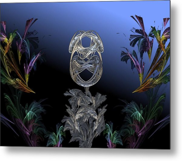 The Shell Metal Print by Ricky Kendall