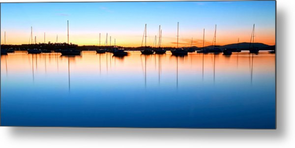 The Silent Fleet Metal Print