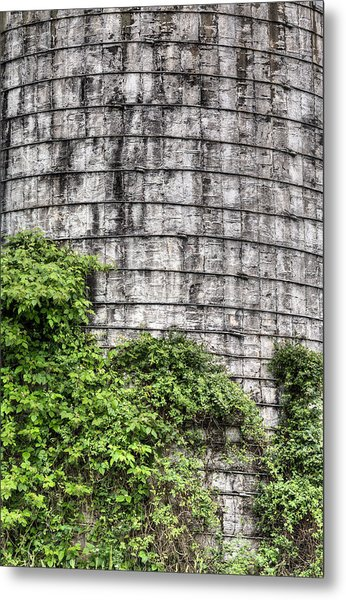 The Silo Metal Print by JC Findley