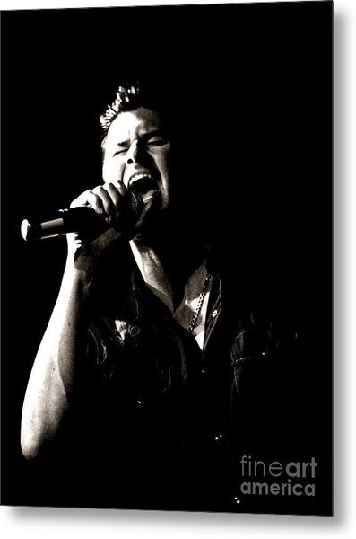 The Singer Metal Print by James Yang