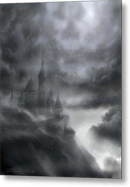 The Skull Castle Metal Print