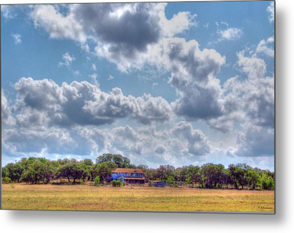 The Sky's The Limit Metal Print by Sarah Broadmeadow-Thomas