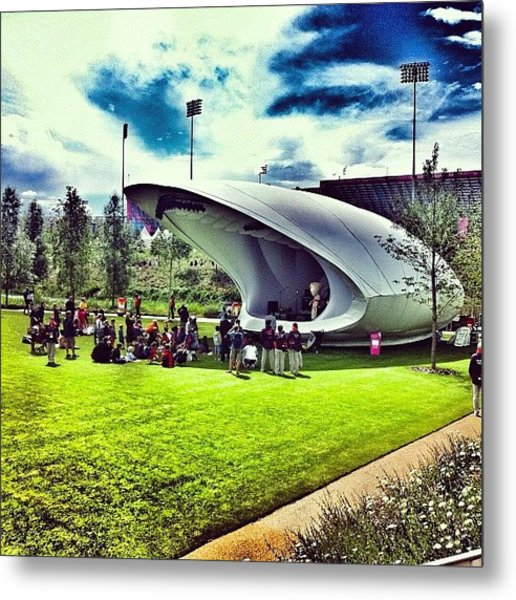 The Stage At #london2012 #olympics Metal Print