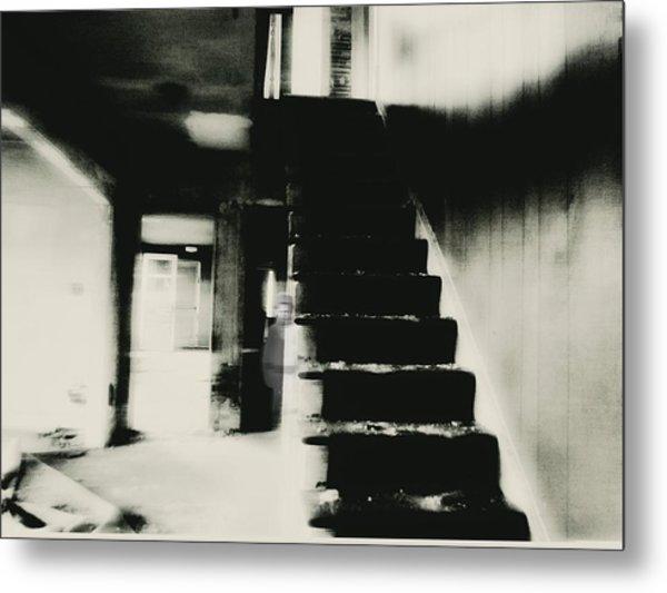 The Stairway Metal Print by Trish Clark