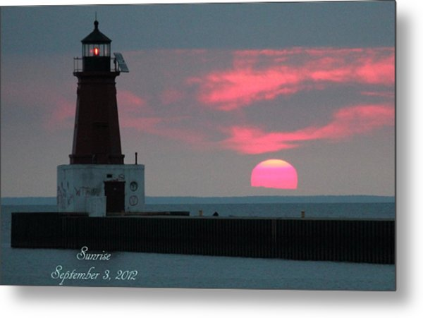 The Sun Is Rising  Metal Print by Sheila Werth