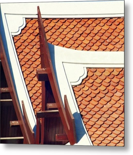 The Time To Repair The Roof Is When The Metal Print
