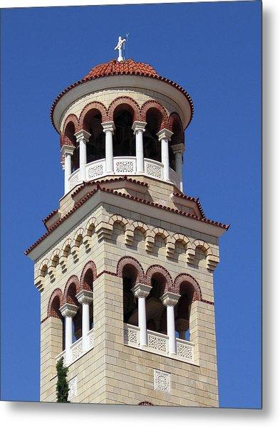 The Tower Of Saint Nectarios Metal Print