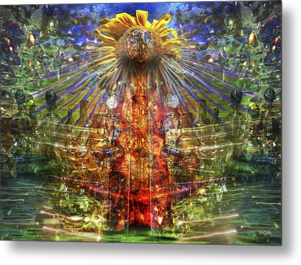The Tower Of The Sun Metal Print