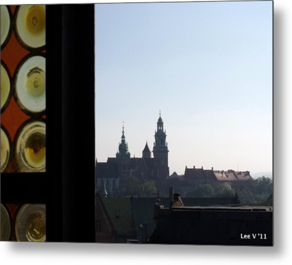 The Tower Window Metal Print by Lee Versluis