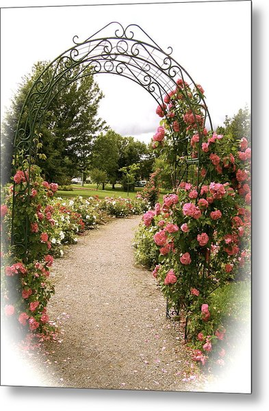 The Trellis Metal Print
