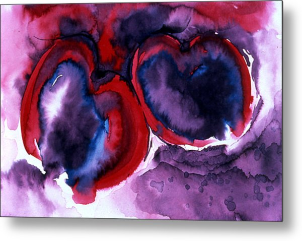 The Two Of Us Metal Print by Eunice Olson
