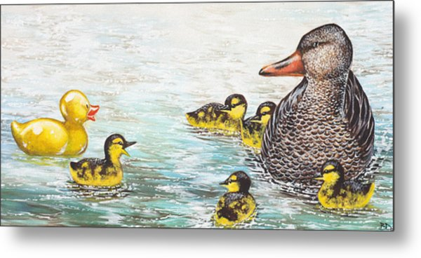 The Ugly Duckling Metal Print