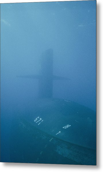 The Uss Narwhal Ssbn 617 Now Metal Print