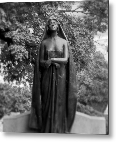 The Veild Lady Metal Print